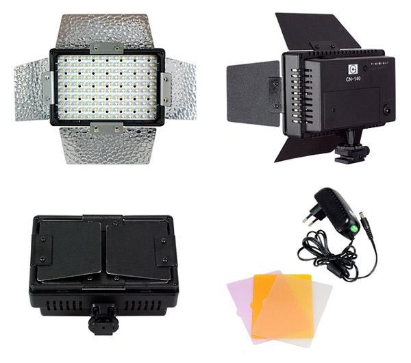 NANGUANG LED-Videoleuchte CN 140 Details