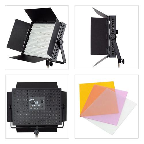 LED-Videoleuchte CN-1200 H Details