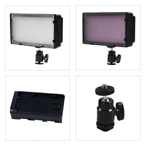NANGUANG LED Videoleuchte CN 240 Details