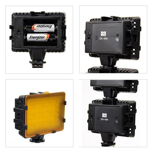 NANGUANG LED-Videoleuchte CN-48 Details