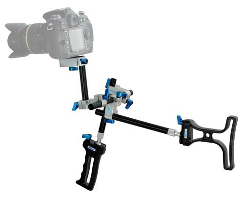 WONDLAN Videostativ SNIPER mit DSLR-Kamera