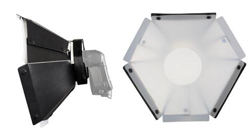 Mettle Systemblitz Vorsatz Hexagon Softbox 30 cm