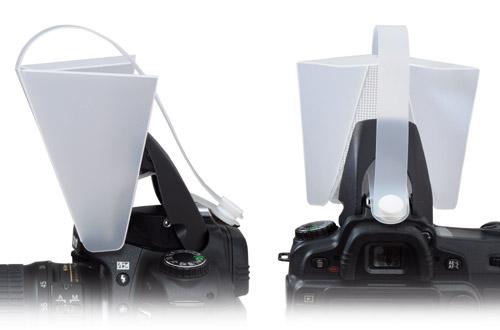 Mettle Bouncer Diffusor für integrierten Kamerablitz