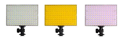 NANGUANG Videoleuchten Set CN-B1504 Kit Filter