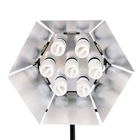 NANGUANG Tageslicht-Studioleuchte NG 785-30 (7x30 Watt)