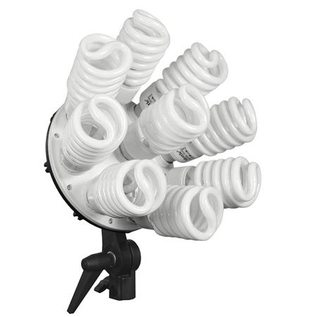 9-in-1 Lampenhalter ES-955 mit 9x45 Watt