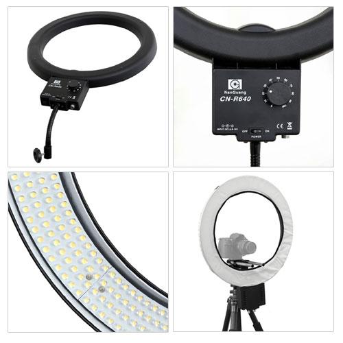 LED Ringleuchte CN-R640